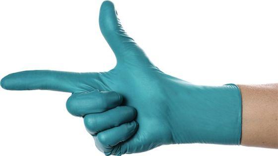 Einweghandschuh SolidSafety ChemN Special grün Nitril