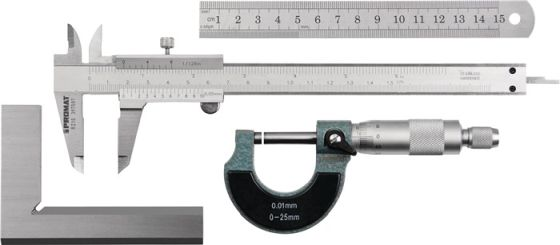 Messzeugsatz 4tlg.PROMAT